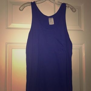 ZARA Royal Blue Tank